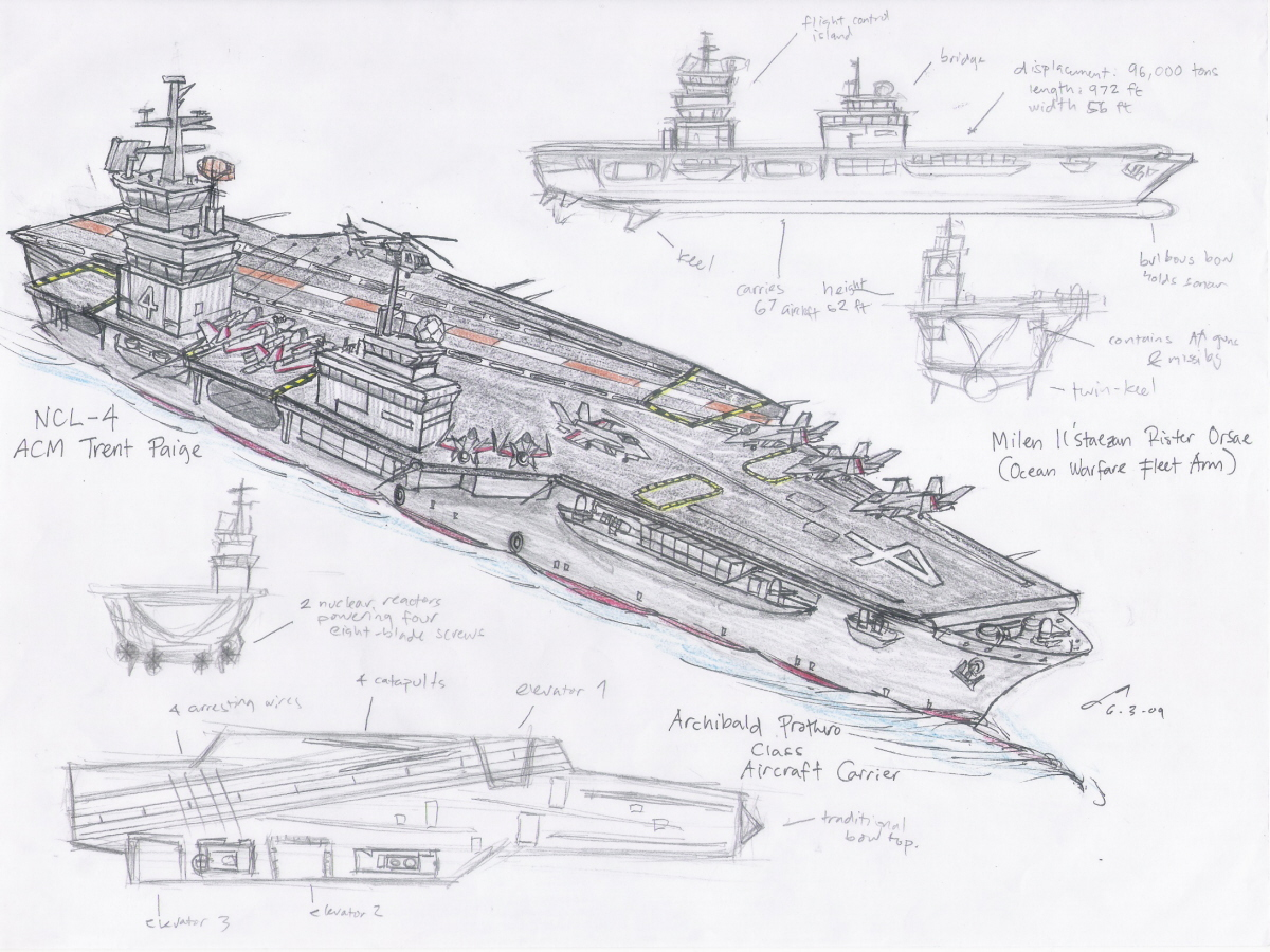 Callentine Aircraft Carrier By Contrail09 On Deviantart
