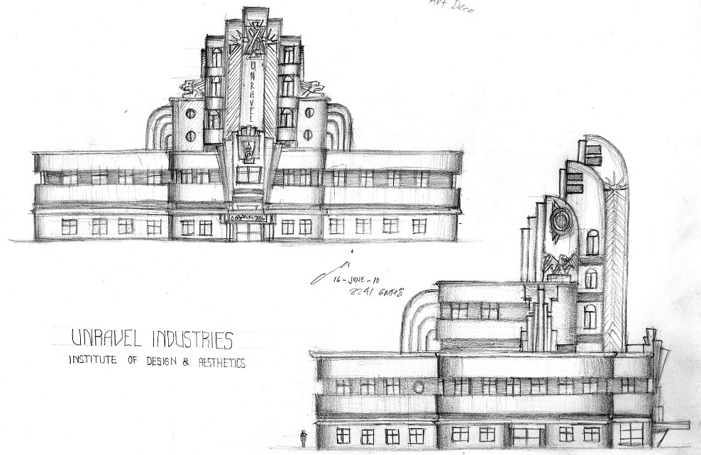 Unravel - IDEA building by contrail09