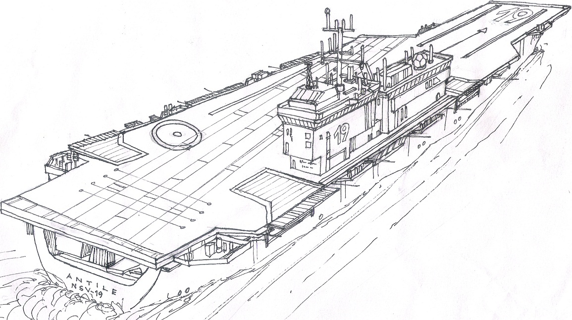 Antile class aircraft carrier by contrail09 on deviantart for Aircraft carrier coloring page