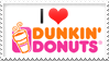 Dunkin Donuts Stamp by artFETISH