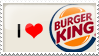 Burgerking Stamp by artFETISH