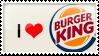 Burgerking Stamp by artFETISH