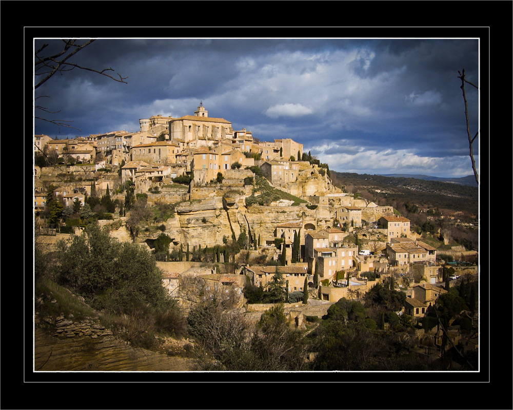 Gordes by 13essylu