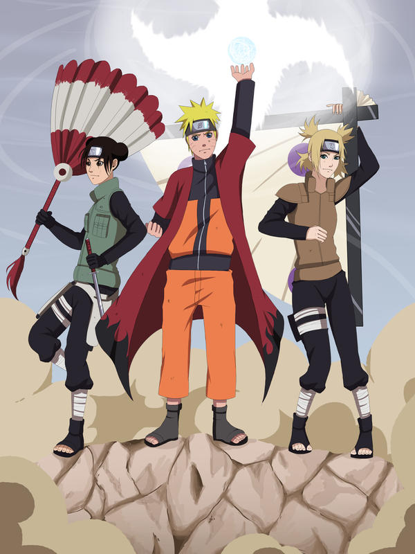 CM: Naruto, Tenten and Temari Shinobi War by Chloeeh