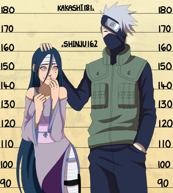 cm kakashi and shinju height chart by chloeeh on deviantart