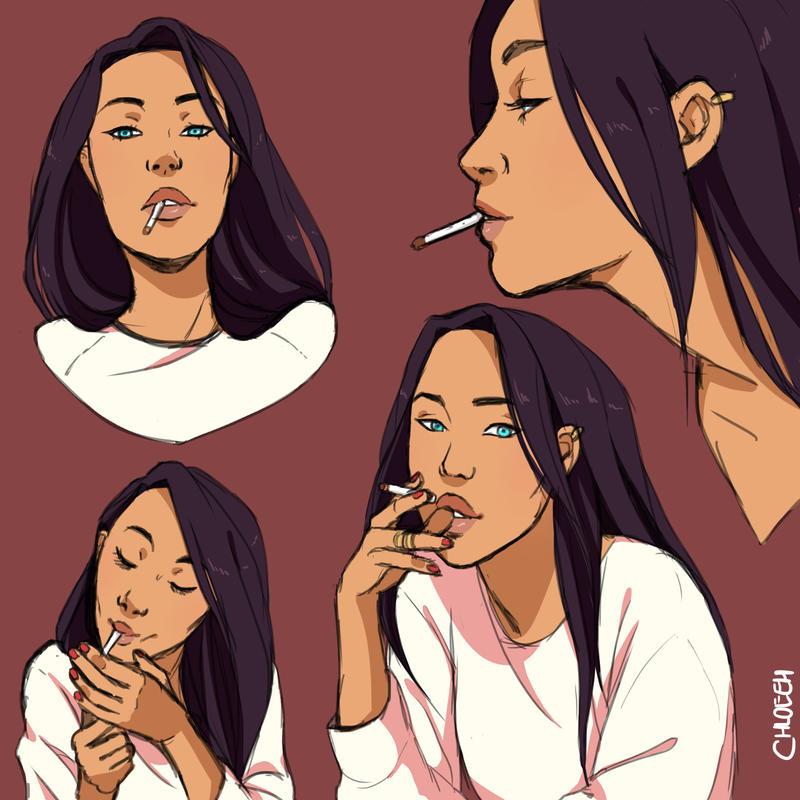 009 smoke by Chloeeh