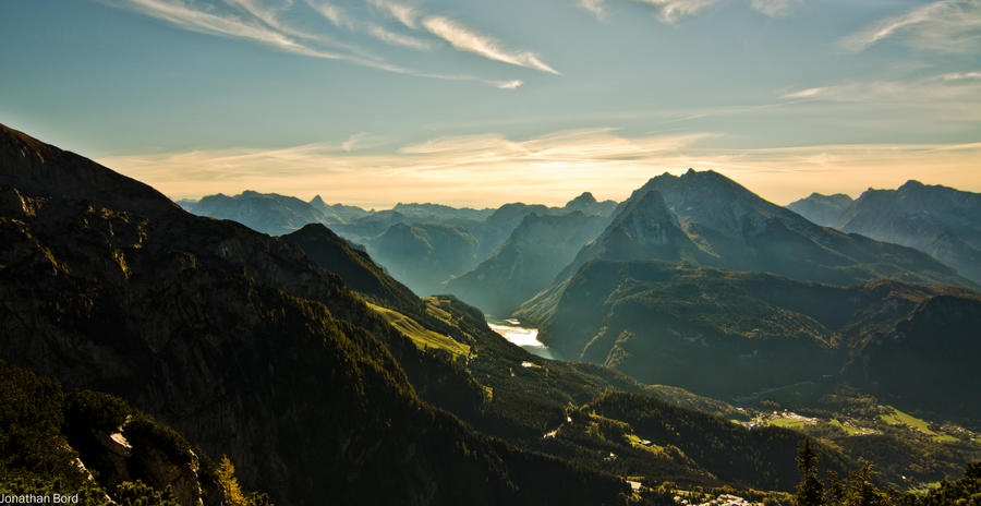 Views from Kehlsteinhaus by JBord
