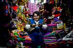 Peruvian Trinket Merchant