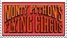 Monty Python Logo Stamp by krunchiefrog