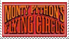 Monty Python Logo Stamp by krunchiefrog