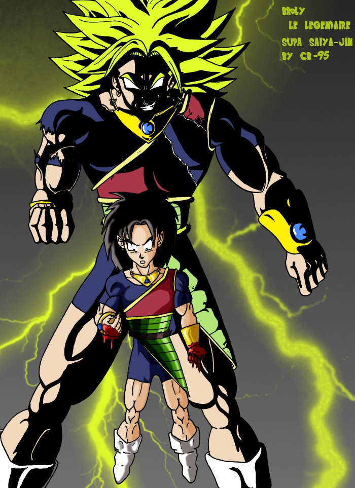 Broly by cb 95 on deviantart - Sayen legendaire ...