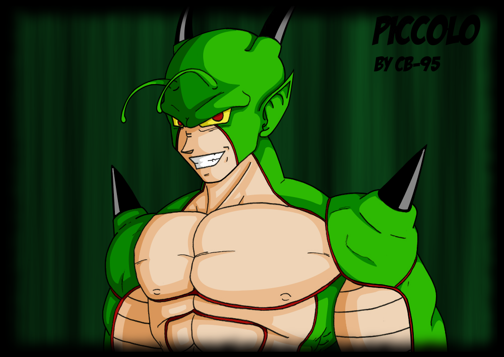 Piccolo new tranformation by CB-95 on DeviantArt