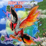 Mega Talonflame