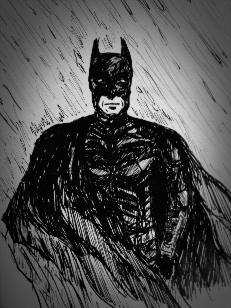 The Dark Knight by leaazian