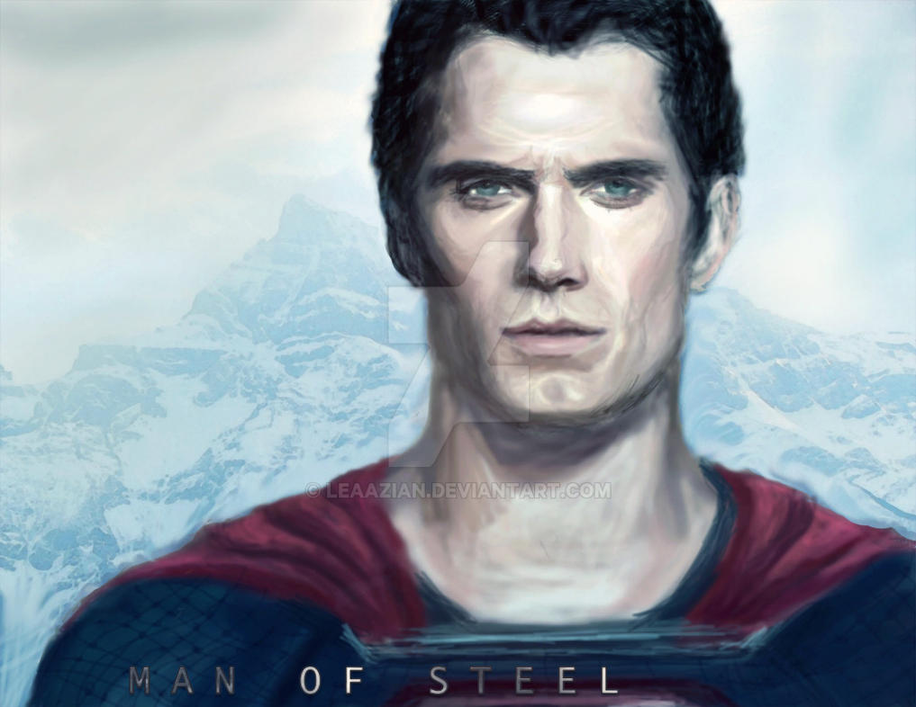 Man of Steel (2) by leaazian