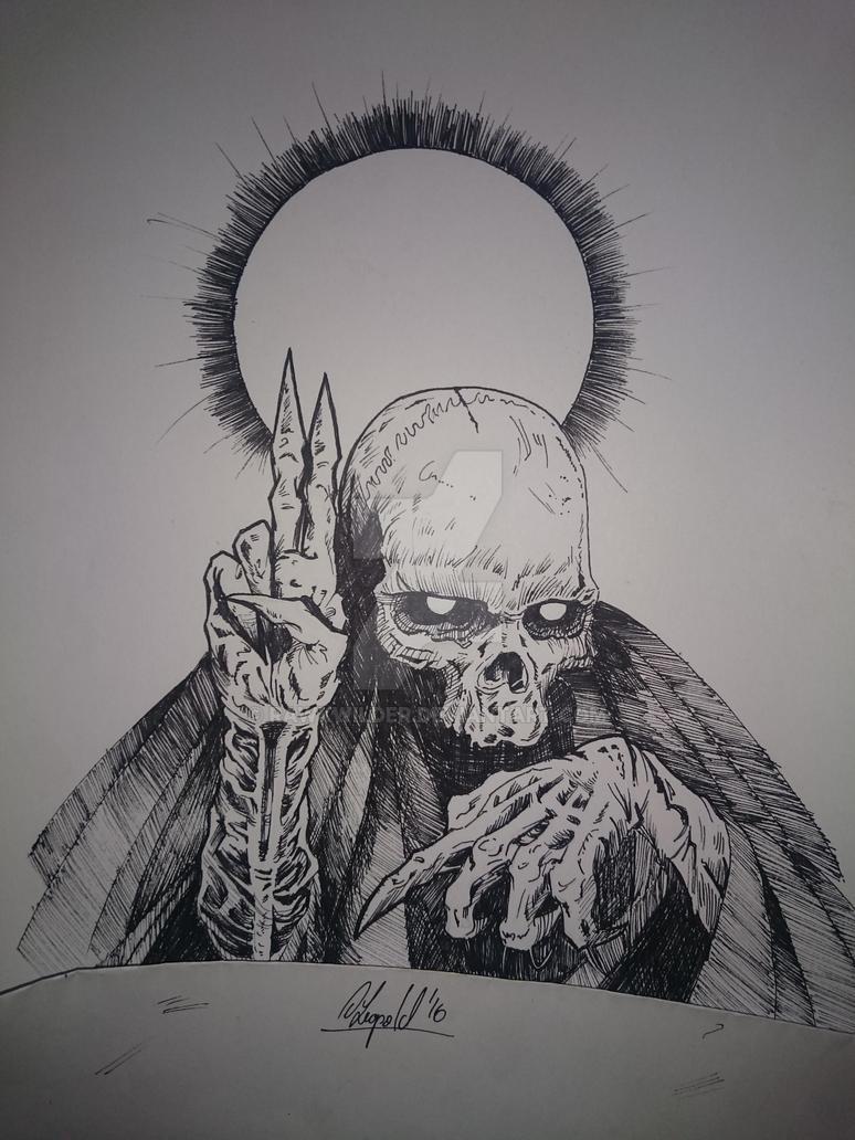 Prayer of darkness by Rawkwilder