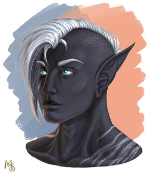 [Gift] Ice Blue Eyes