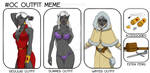 OC Outfit Meme - Deladrien by Dungeon-Spirit