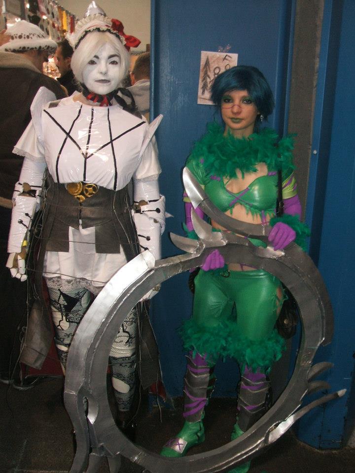 ashlotte and tyra soul calibur by ptitcoton on deviantart