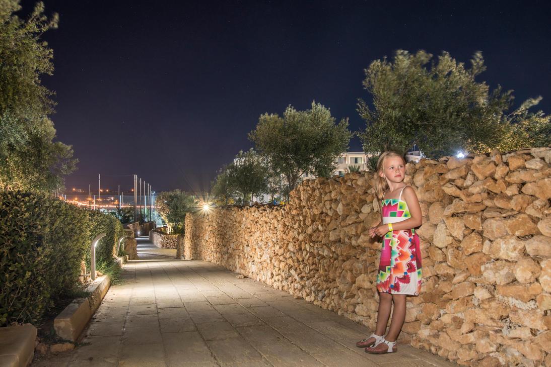 Cloe , la nuit a l'hotel de Malte by D4Ybe