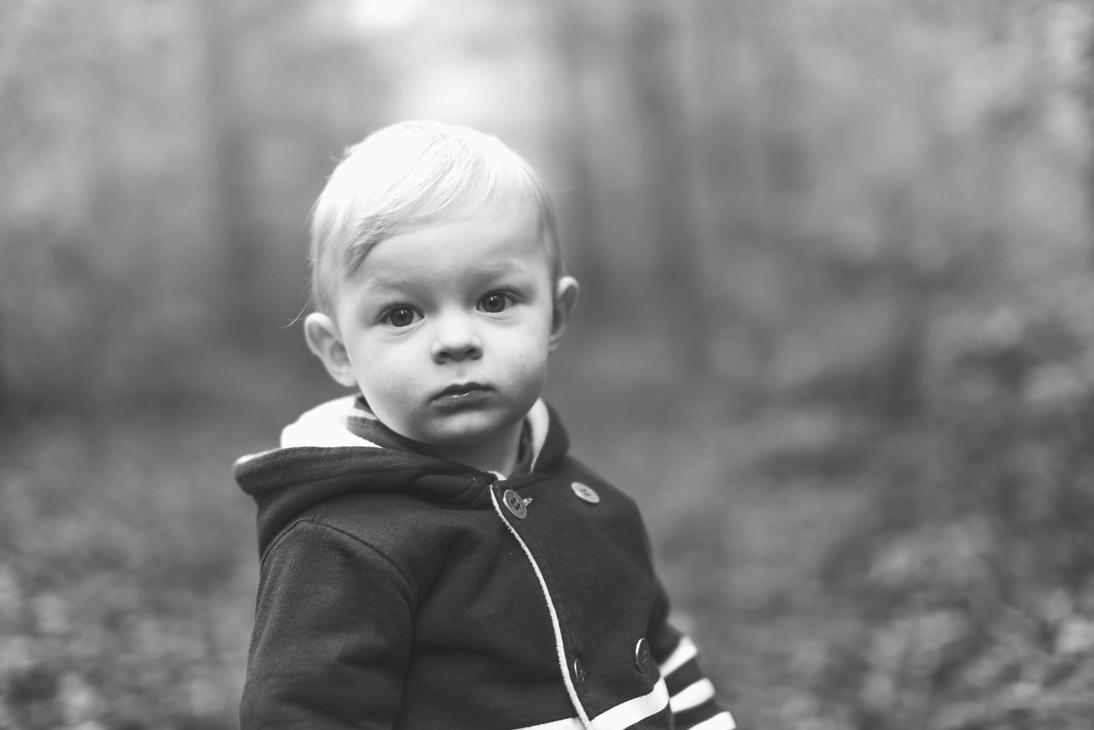 Emilien , balade dans les bois by D4Ybe