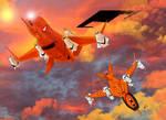 Macross Plus Target Drones