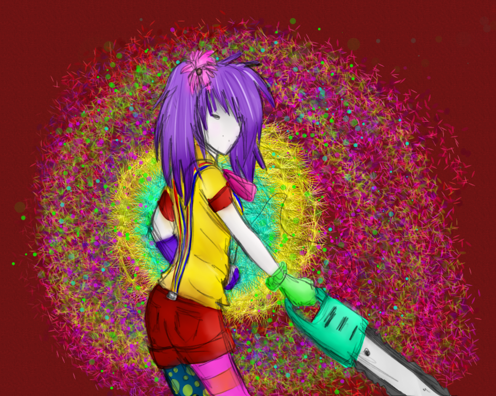 Chainsaw by CandygirlOnline