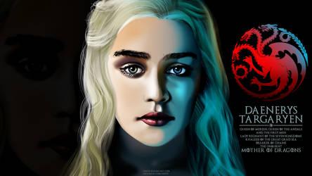 Daenerys Targaryen by jrapb