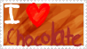 I love chocolate stamp by toshirou-kun