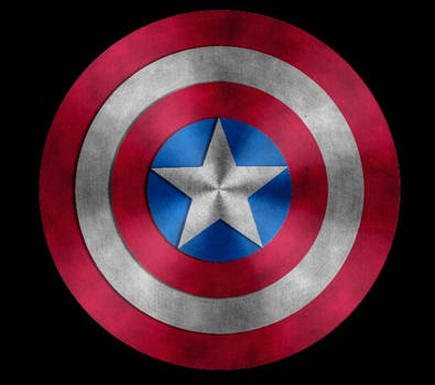 Shield of Captain America by asganafer