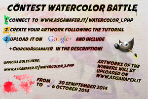 Contest WATERCOLOR BATTLE by asganafer
