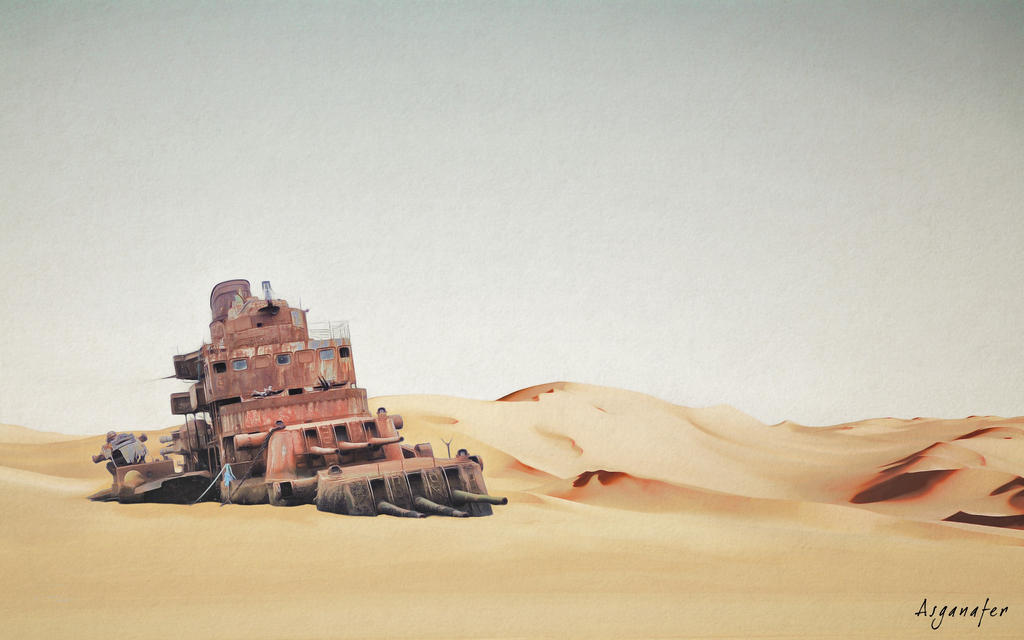 Land of desolation by asganafer
