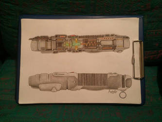LightSaber Cross Section