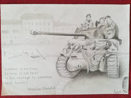 Tank of liberty