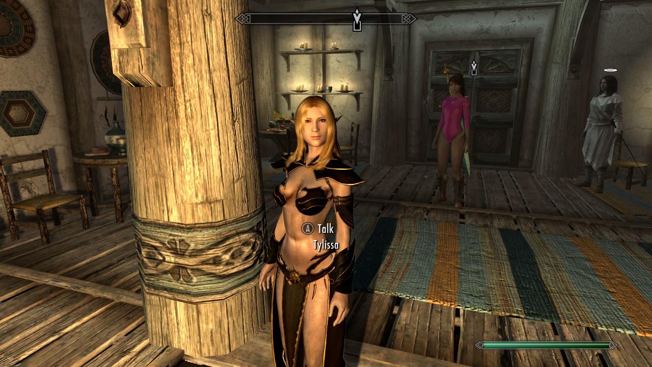 skyrim naked women mod