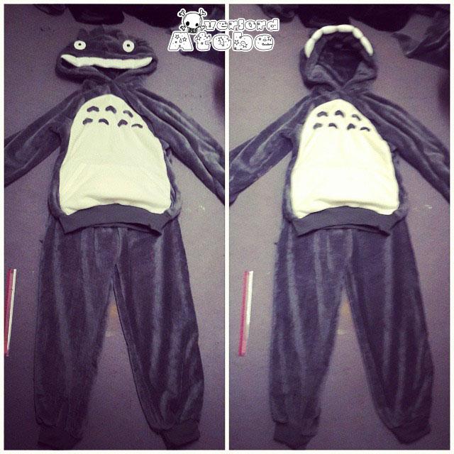 Creepy Totoro by Atobe333