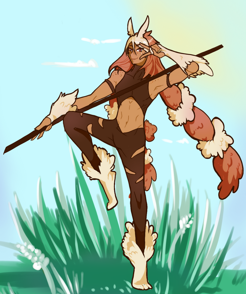 Manliest Lopunny by Atobe333
