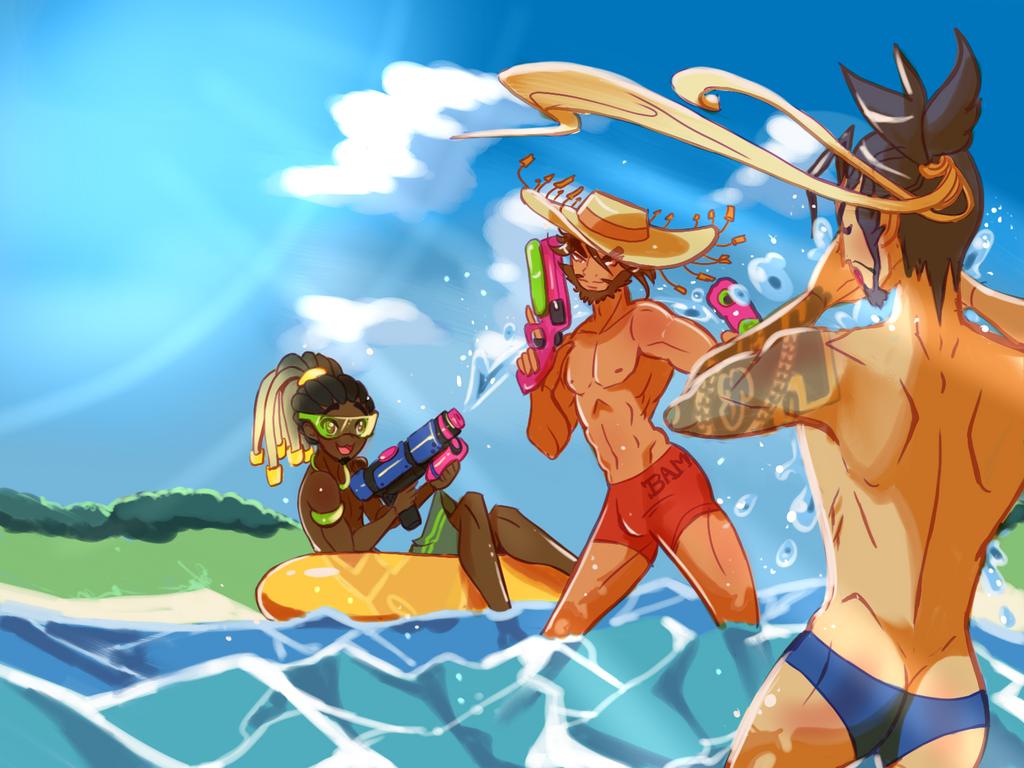 Summer fun by Atobe333