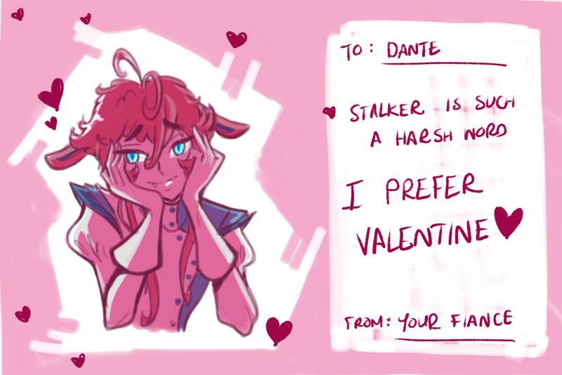 Be my Valentine by Atobe333