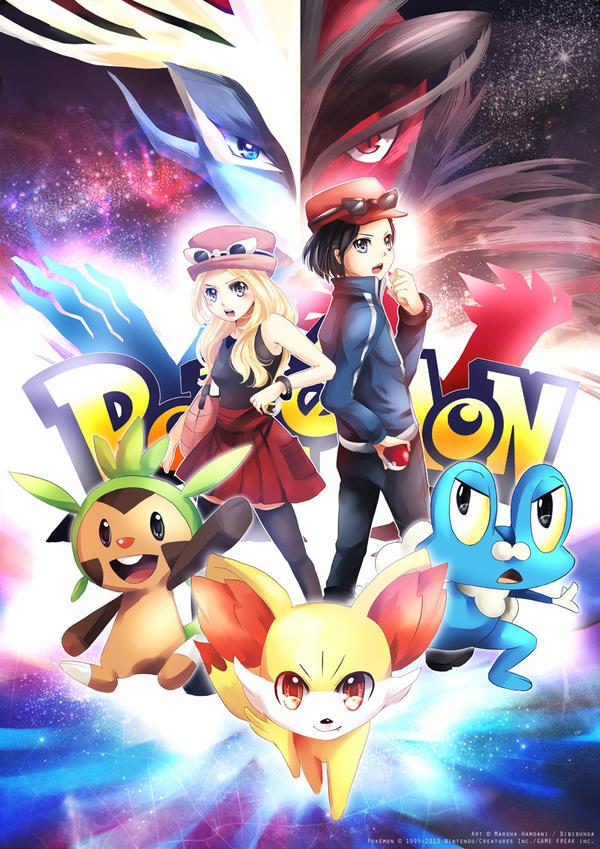 PokemonXY! by bibibunga