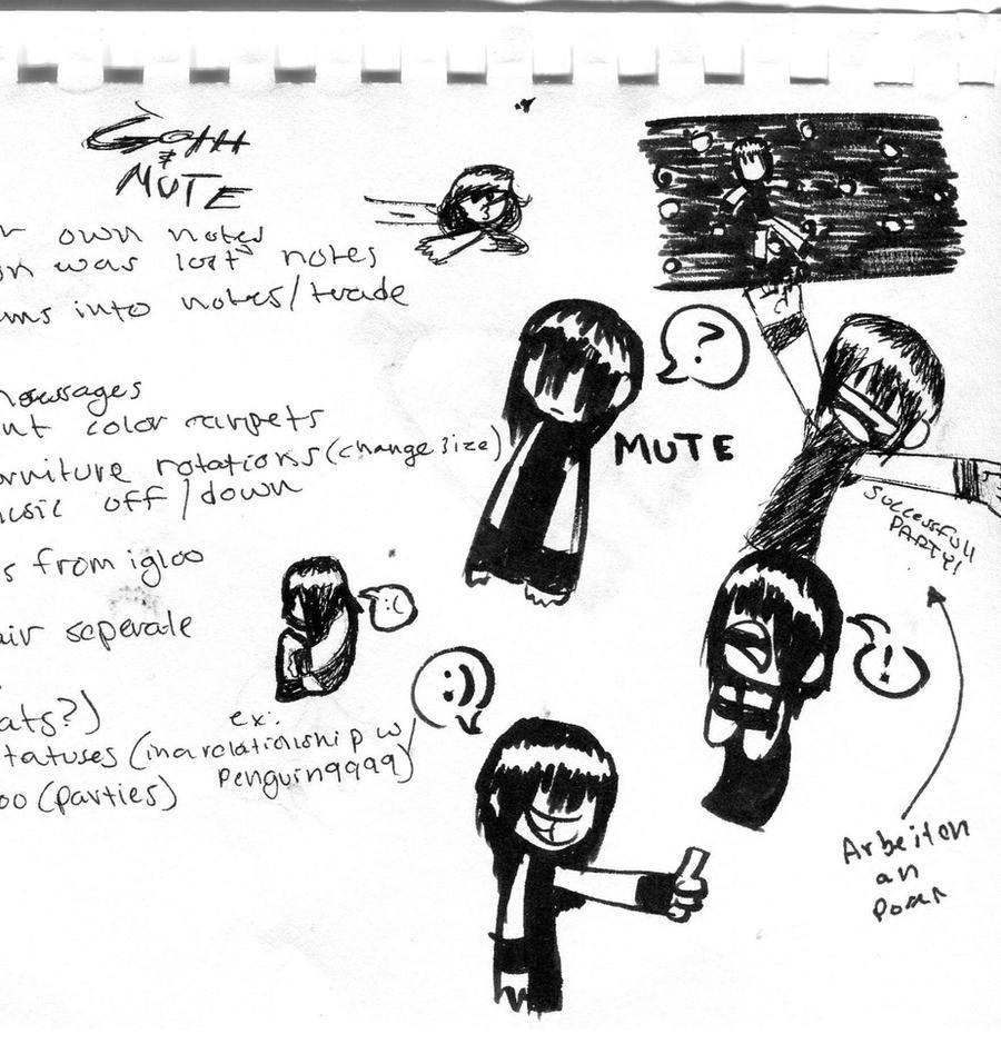 Goth And Mute by BucketOfFail
