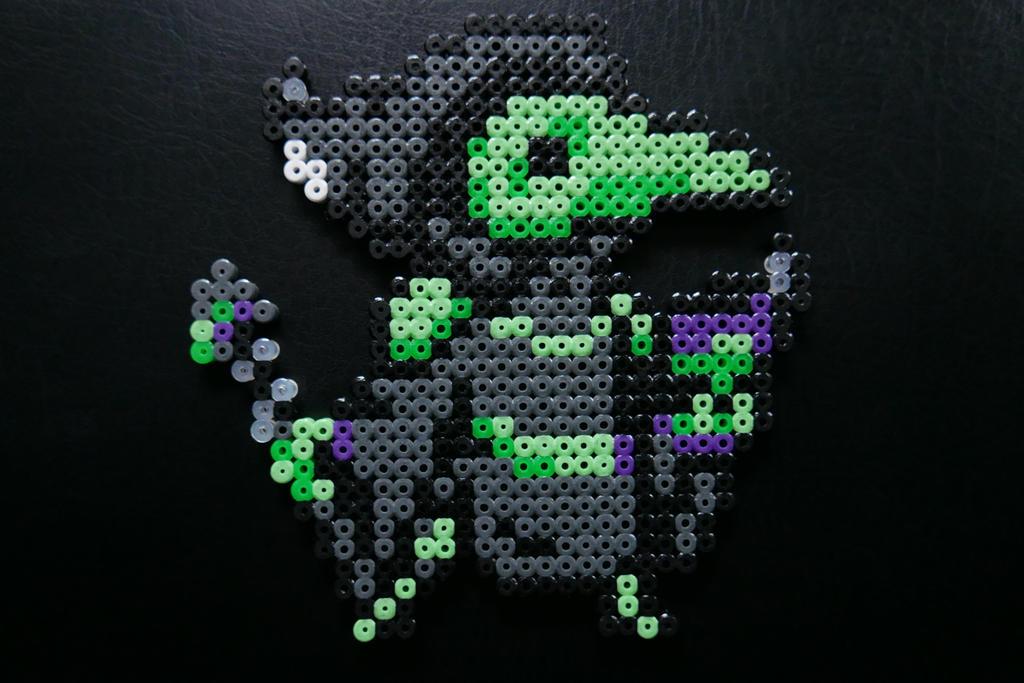 Plague Knight - Shovel Knight Hama Beads by Nidoran4886