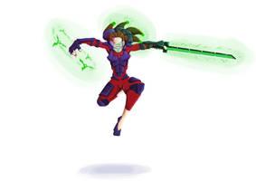 Cyborg Ninja Lady
