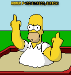 Homer F-ing Simpson by GamesterDS