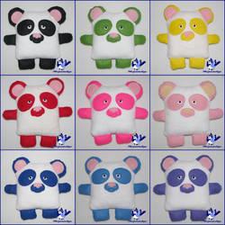 The Cutie Snouts - Pandas
