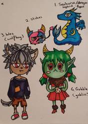 Adoptables (see description) by Ayashiza