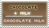 Chocolate + Milk by kage-stock
