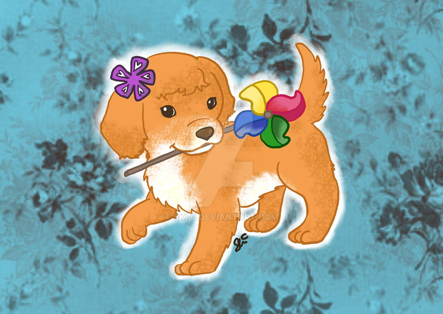 Caldraw 2012 Pinwheel Puppy By Ski 0 On Deviantart