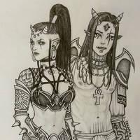 Sivir and Osiris by ltakahira