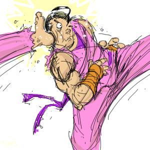 Dan- quick sketch by NoBullet